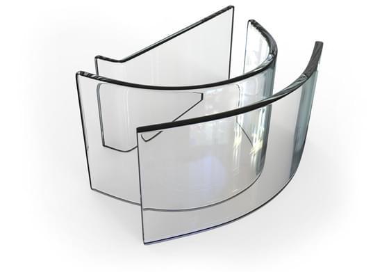 Flexible Glass Mirror